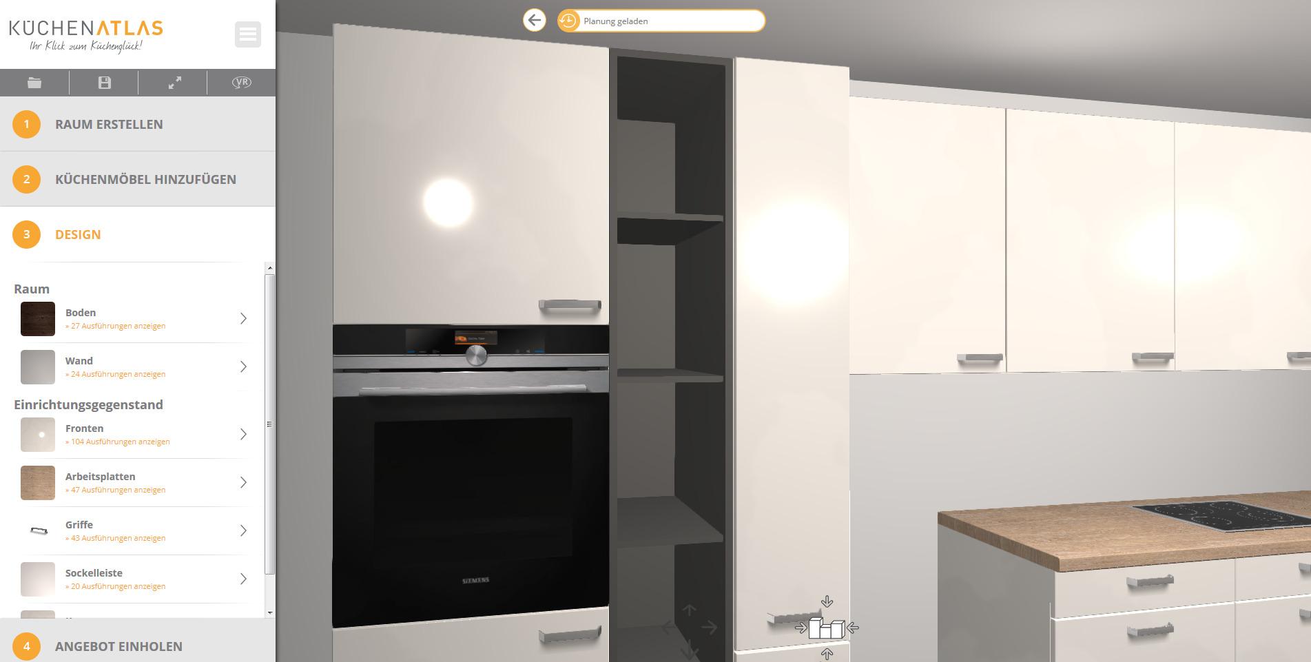 Küchen-Planungstisch für interaktive Liveplanung am Point of Sale ...